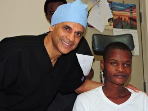 Georgia Eye Specialists Hersh Chopra volunteers in Haiti